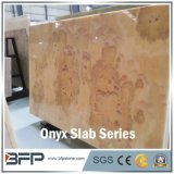 Orange Jade Onyx Slab for Background Wall and Border Line