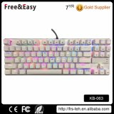 Professional 87keys Backlit Wired Gaming Mechanical Keyboard