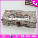 Wholesale Cheap Cool Motorcycle Pattern Small Decorative Wooden Boxes W18A016