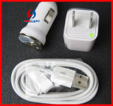 3in1 5V 2.1A USB Wall Charger Adapter for iPhone6 Charging