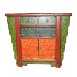 Chinese Antique Furniture Painted Cabinet Lwb605