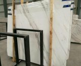 Volakas White Marble Slabs for Countertops Wall Cladding Flooring