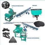 China Factory Charcoal Coal Powder Briquette Extruder Making Machine (WSMB)