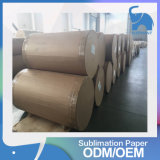 Factory Wholesale Light Glossy Heat Transfer Printing Paper Rolls for Textile