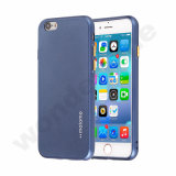 Motomo Oil Spouting TPU Case with Electroplating Button-Blue