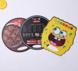Promotional Advertising Campaign PP Cheap Custom Logo Printed Mini Election Plastic Hand Fan