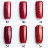 Nail Salon Supplies Red Diamond Nail UV Gel Polish