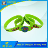 Lowest Price Customized Deboss Logo Wrist Band for Promotion Avtivity (WB23-A)
