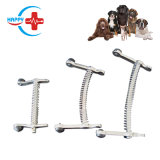 Hc-R036 Stainless Steel Canine Mouth Gag Small Medium Large Sizes Dog Cat Animal Veterinary Mouth Gage Dental Instruments