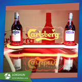 Acrylic Beer Bottle Glorifier Display with LED