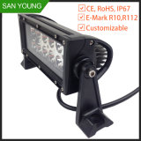7.5inch CREE 36W LED Work Light Bar off 4WD 4X4