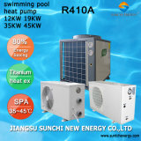 Water 12kw/19kw/35kw/70kw Swimming Pool Heatpump Heater