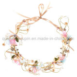 OEM Hot Sale Crystal Wedding Wreath Bride Hair Band Headband