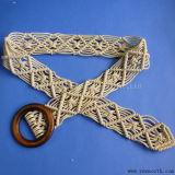 Hand-Woven Tassel Beads Belt Chain Women's Dress Waist Ethnic Decorated