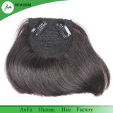 Clip in with Baby Hair Color 1b 100% Human Hair