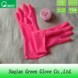 Pink Cheap Waterproof Houshold Gloves