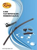 Universal Flat Wiper Blade for All Passenger Cars, Teflon Coating and Aerotwin Design