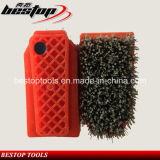 46# Fickert Type Steel and Silicon Carbide Diamond Mixed Brush