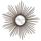 Stratton Home Decor Bella Wall Mirror, Starburst of Metal Rays