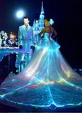 New Material Optical Fiber Fabric Cloth Fashion Fiber Dress LED Luminous and Dazzling Fiber Cloth