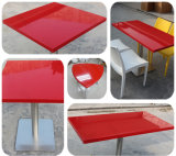 Red Restaurant Table/ Home Duniture Table Design/ Stone Table Price
