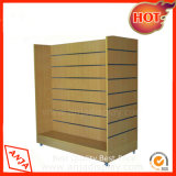 China Supplier Modern Wood Slatwall Display Unit for Store