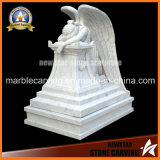 Stone Carving Headstone Natural Marble Memorial Monuments