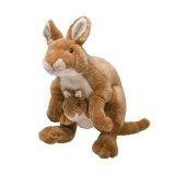 Wholesale Stuffed Plush Mother and Baby Kangaroo Soft Toys