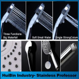New Design High Quality Sanitary Ware 3 Function Hand Shower