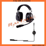 Over The Head Type Heavy Duty Carbon Fiber Headset (RAN-3000CF)