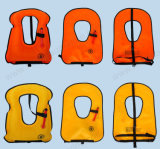 Inflatable Snorkel Vest Adult Life Jackets Vests for Free Diving Swimming Safety