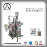 Wholesale Pounch Tea Bag Filling Packaging Machine with Thread and Label