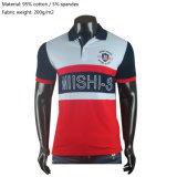Custom/Customized Clothing Plain/Stripe Printing/Embroidery Apparel 100% Cotton Pique/Jersey Men's Golf Polo Shirts