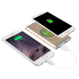 Qi Wireless Charger 4000mAh USB Power Bank for Iphonex