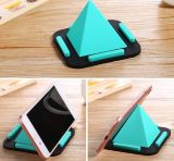 Pyramid Shape Tablet Stand Silicone Phone Bracket for iPhone