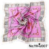 Fashion Lday Decoration Scarf Satin Material 72X72mm