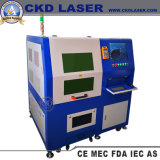 Sealing Small CNC Fiber Laser Aluminum Cutting Machine for Stainless Steel Sheet Metal Copper Brass Silver Spectacle Frame Glasses Legs Precision Processing Cut