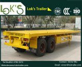 40 Feet 2 Axle Container Flatbed Semi Trailer