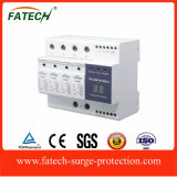 Compact intelligent lightning surge protection device SPD