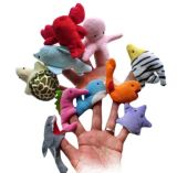 Cute Mini Plush Animal Finger Puppets
