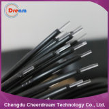 0.5mm Plastic PMMA End Glow Optical Fiber with Black Jacket