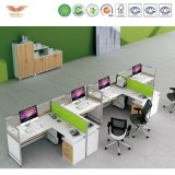 Cheap Modern Design Four People Office Workstation (H15-0803)