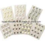 Wholesale Acrylic Rhinestone Pearl Crystal Sticker Sticky Gems Embellishments (TP-056)
