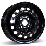 14X5.5 (4-100) Steel Winter Wheel Matt Black