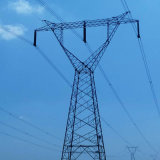 500kv Single Circuit Power Transmission Angle Steel Tower