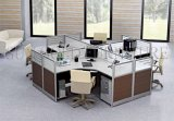 Hotselling Nepal Office Cubicles Modular Metal Frame Round Workstation (SZ-WS318)