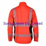 Chinese Moderate Price Red Reflective Safety Jacket Workwear Uniform