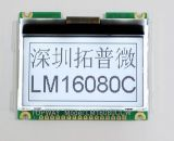 160X80 Graphic LCD Display Cog Type LCD Module (LM16080C)