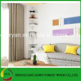 Home Furniture General Use Particle Board Decorative Corner Wall Shelf