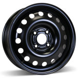 15X6 (4-108) Steel Black Winter Wheel Rim